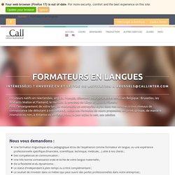 Formateurs en langues