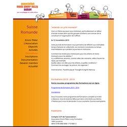 Association Emmi Pikler: formation en lien avec les temps d'attente