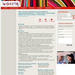 Formation du GRETA de l'Académie d'Aix-Marseille