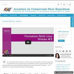 Formation Reiki Usui - Niveau 3