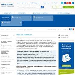 Plan de formation - Accompagnement plan de formation - OPCA Opcalia