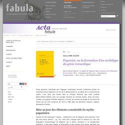 Paganini, ou la formation d'un archétype du génie romantique - fabula.org