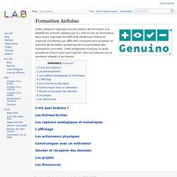 Formation Arduino — Wiki L.A.B