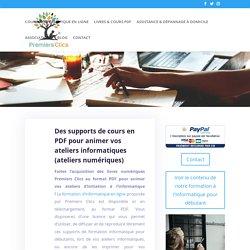 Support de formation PDF pour ateliers numériques - Premiers Clics