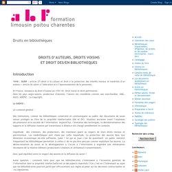 Droits en bibliothèques - ABF