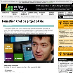 Formation E-CRM