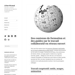 Des contenus de formation et des guides sur le travail collaboratif en réseau ouvert
