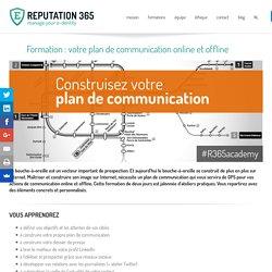 Formation : votre plan de communication online et offline
