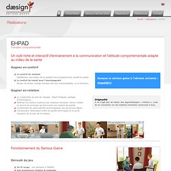 EHPAD Formation comportementale - Daesign E-learning