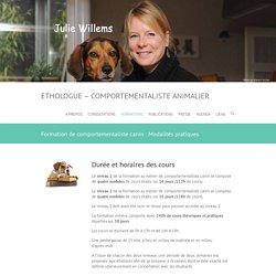 Formation de comportementaliste canin : Modalités pratiques - Ethologue - Comportementaliste animalier