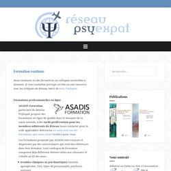 Formation continue – Réseau PsyExpat