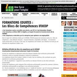 Formation professionnelle adultes : Centre de formation IFOCOP