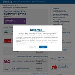 Formation en bac+2: Découvrez la Liste des Formations