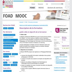 Formation Description de la formation FOAD