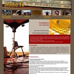 Studio té - Formation continue, recherche, développement dans le spectacle vivant - Sète (34)