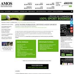 Avec notre formation, devenez agent sportif - AMOS School