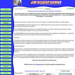 Formation dExorcisme : 250,00 €
