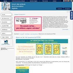 FFFOD, le forum des acteurs de la formation digitale - Retour sur les 14e rencontres du FFFOD