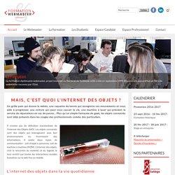 Formation diplômante Webmaster - Toulouse - Mais, c'est quoi l'Internet des objets?