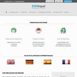 Formation à distance - Ecolingua®
