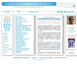 Formation à « l'ECG de A à Z » par Pierre Taboulet