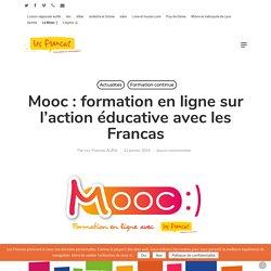 Mooc : formation en ligne sur l'action éducative avec les Francas – Union régionale des Francas Auvergne-Rhône-Alpes