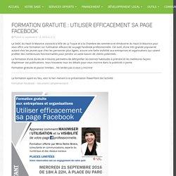 Formation gratuite : Utiliser efficacement sa page Facebook › SADC du Haut St-Maurice