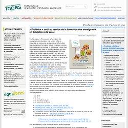 Institut national de prévention et d'éducation pour la santé - INPES