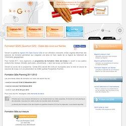 Formation qgis inter entreprise sur Nantes, prise en main, sessions tous publics