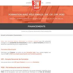 Formation Pôle Emploi : financer avec DIF, CIF, POEI, Prêt