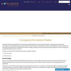 FreeZone & Offshore Business Setup Dubai, UAE