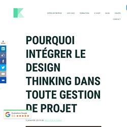 Formation gestion de projet : optez pour le Design Thinking et l'Agile