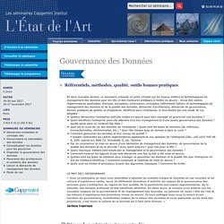 Formation Gouvernance des Données - Capgemini Institut