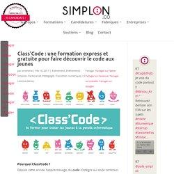 Class'Code : une formation express et gratuite pour faire découvrir le code aux jeunes