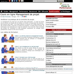 Formation gratuite en ligne management de projet (piloter.org)
