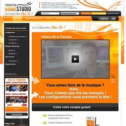 Formation Home Studio - Un Studio Pro Chez Soi!