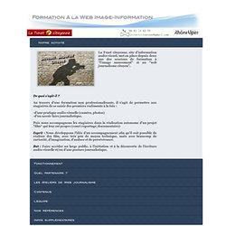 Formation à la Web Image-Information