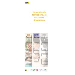 CEFI FORMATION – Culture Education Formation Individualisée
