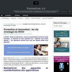 Formation et innovation : les six avantages du BYOD – Formation 3.0
