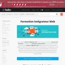 Formation Intégrateur Web