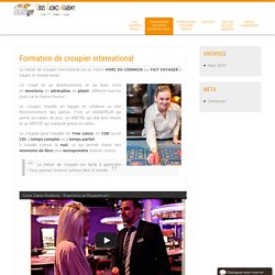Formation de croupier international - Croupier International Cerus