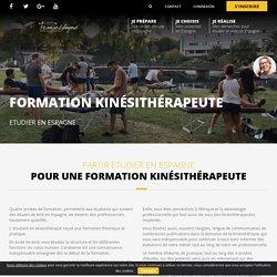 Formation Kinésithérapeute