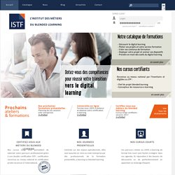 ISTF - Formation au e-learning et blended learning pour formateur