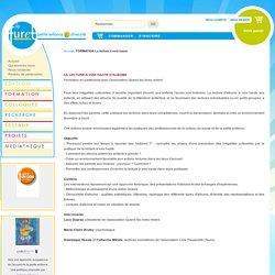 FORMATION La lecture à voix haute - Association Le Furet