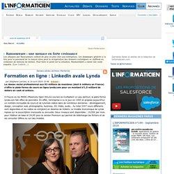 Formation en ligne : LinkedIn avale Lynda