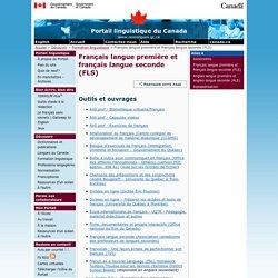 Français langue première et français langue seconde (FLS) – Formation linguistique – Découvrir – Portail linguistique du Canada