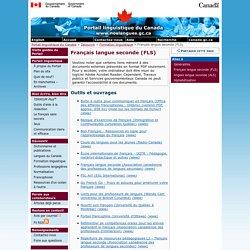 Français langue seconde (FLS) - Formation linguistique - Découvrir - Portail linguistique du Canada