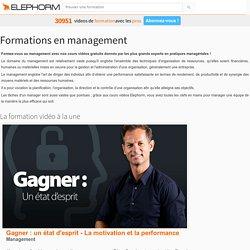 Formation Management - Cours vidéo en ligne Elephorm