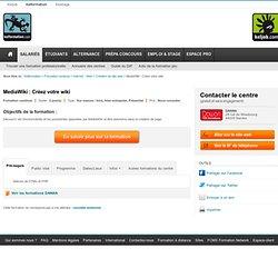 Formation Cr&eacute\;er son wiki avec MediaWiki