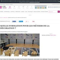 Quelle formation pour les métiers de la décoration ? sur Deco
